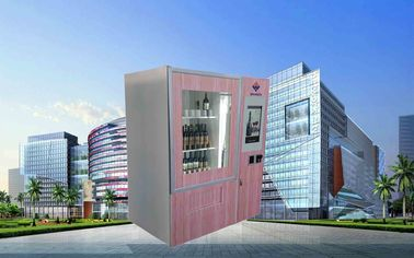 Çin CE FCC Winnsen Wine Vending Machine For Shopping Mall With Credit Card Reader Payment Fabrika