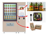 Winnsen Salad Jar Vending Machine , Cupcake Vneding Machines With Belt System
