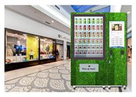 Automatic Self Service Fruit Vegetables Salad Vending Machine With Belt Conveyor Elevator