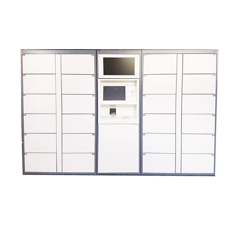 CE / FCC Certified Computer Based Electronic Key Left Luggage Storage Lockers for Public