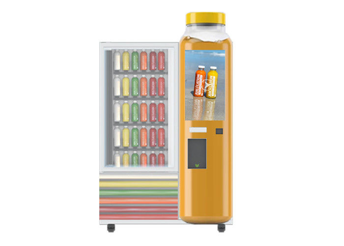 Children Beverage And Snack Milk Juice Vending Machines With CE FCC Certificate